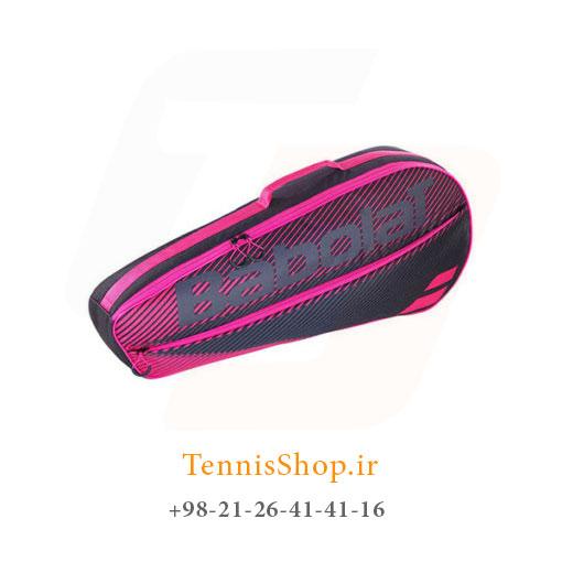 ساک تنیس بابولات سری Club مدل 3 راکته رنگ صورتی