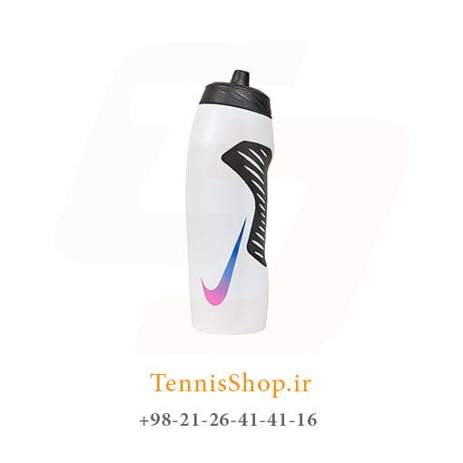 قمقمه ورزشی نایک مدل Hyperfuel رنگ سفید