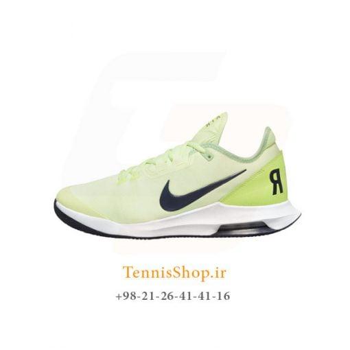 کفش تنیس نایک سری WILDCARD تکنولوژی AIR MAX مدل CLAY رنگ فسفری