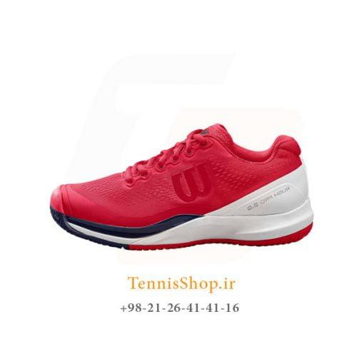 کفش تنیس ویلسون سری RUSH مدل PRO 3.0 رنگ قرمز