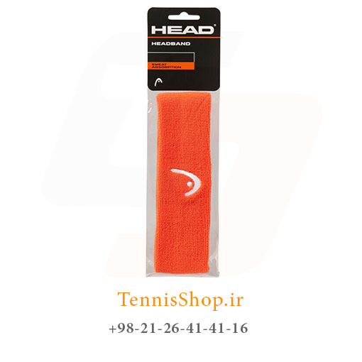 هد بند حوله ای تنیس هد رنگ نارنجی