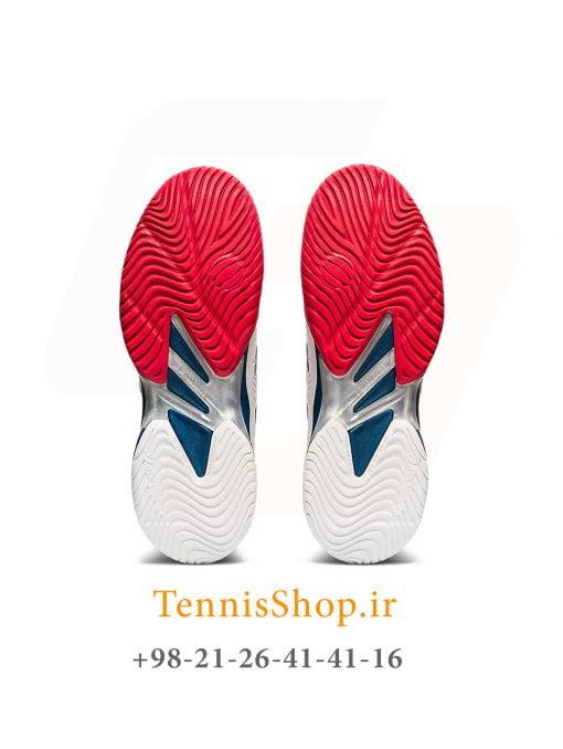 کفش تنیس اسیکس سری 2 COURT FF رنگ سفید