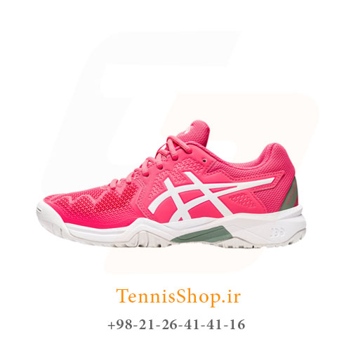 کفش تنیس اسیکس سری 8 GEL RESOLUTION مدل GS رنگ صورتی