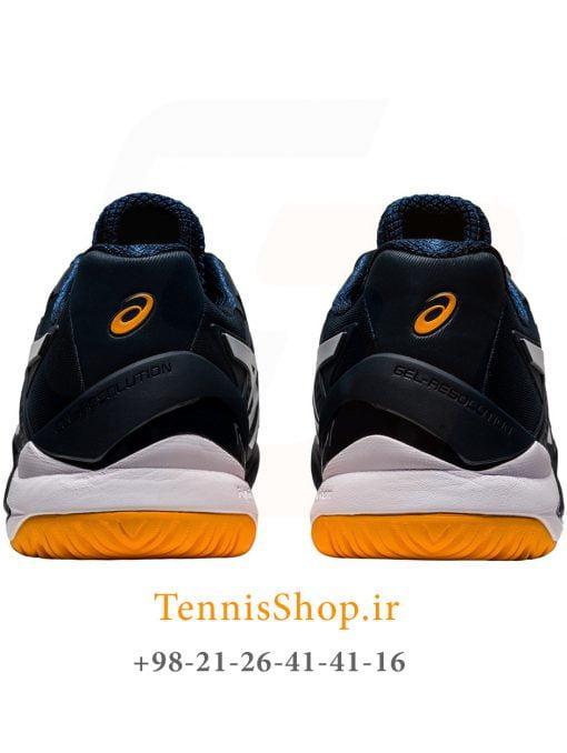 کفش تنیس اسیکس سری 8 GEL RESOLUTION رنگ سرمه ای