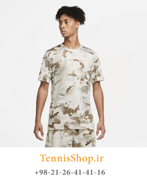 تیشرت تنیس مردانه نایک مدل Camo Tee