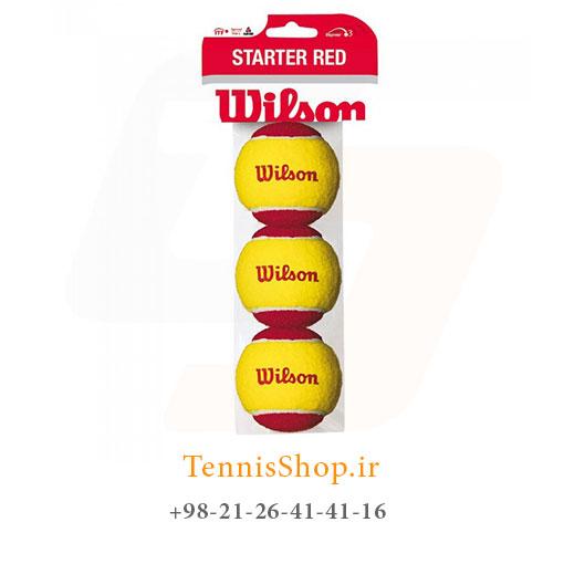 پک سه تایی توپ تنیس ویلسون مدل STARTER