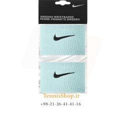 مچ بند تنیس نایک سری 2.5 اینچ مدل 2 عددی رنگ آبی
