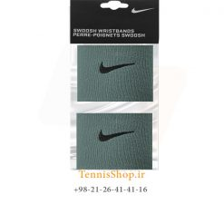 مچ بند تنیس نایک سری 2.5 اینچ مدل 2 عددی رنگ خاکی