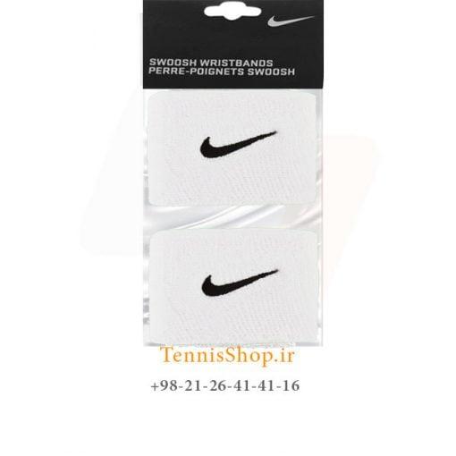 مچ بند تنیس نایک سری 2.5 اینچ مدل 2 عددی رنگ سفید