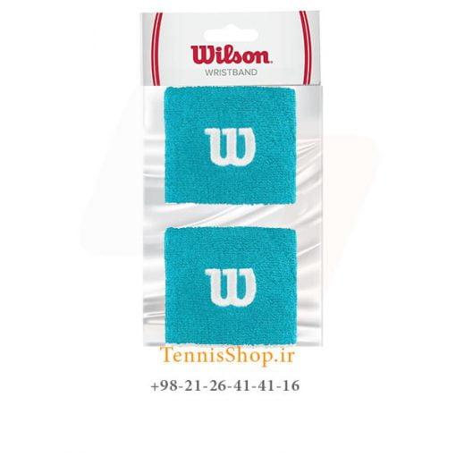 مچ بند تنیس ویلسون سری Short مدل 2 عددی رنگ آبی