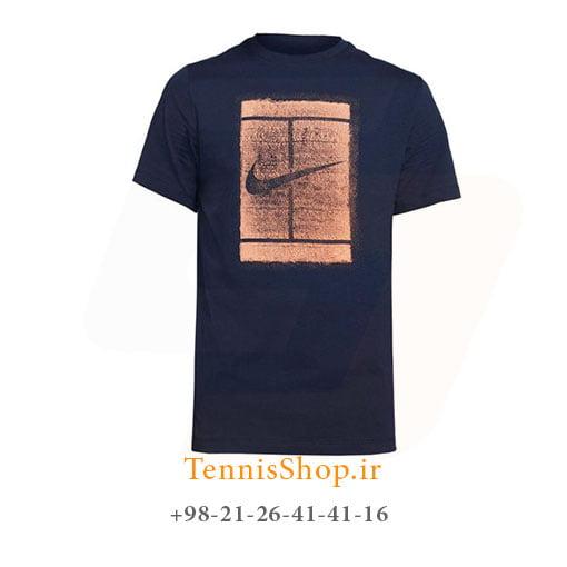 تیشرت تنیس مردانه نایک مدل NikeCourt Logo Tee